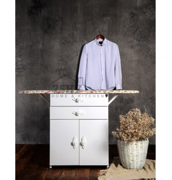 Ironing table Two drawers