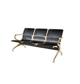 صندلی سه نفره مدلHمشکی طلایی