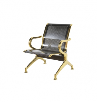 صندلی مدل H مشکی طلایی