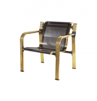 صندلی مدلFمشکی طلایی