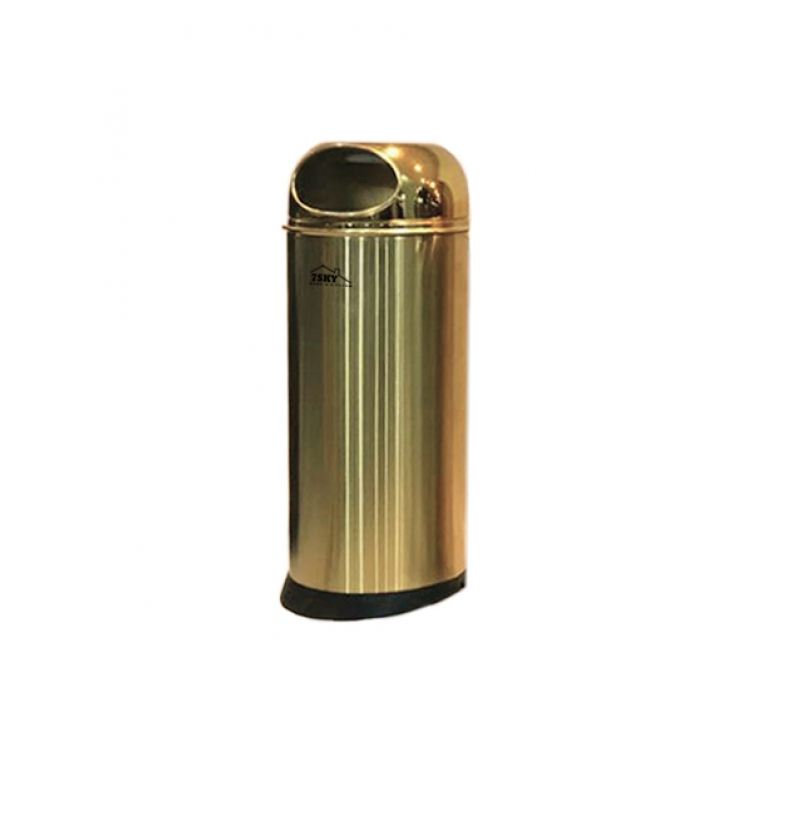 سطل زباله میلان 18 لیتر طلایی