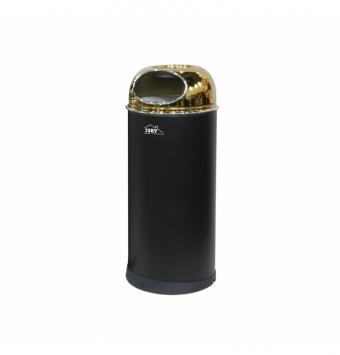 سطل زباله میلان 18 لیتر درب طلایی