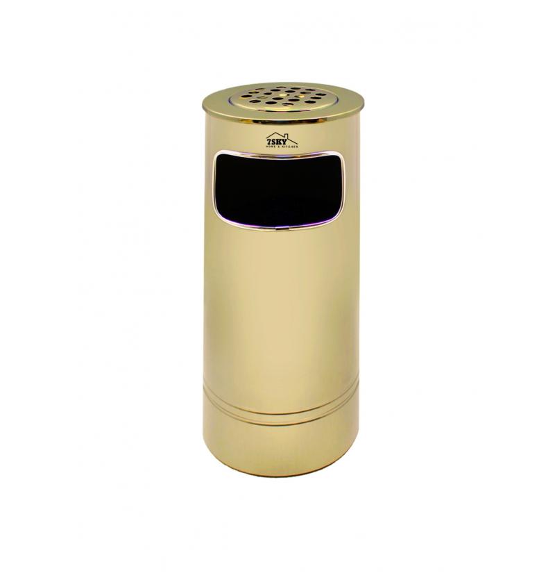سطل زباله برگامو 18 لیتر طلایی