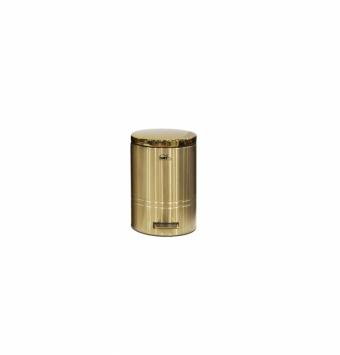 سطل زباله فلورانس 14 لیتر طلایی
