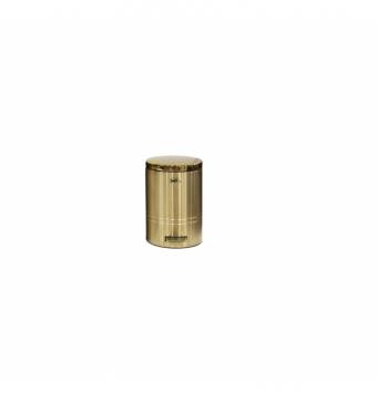 سطل زباله فلورانس 8 لیتر  طلایی