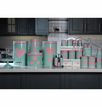 Pink Green Fantasy kitchen set