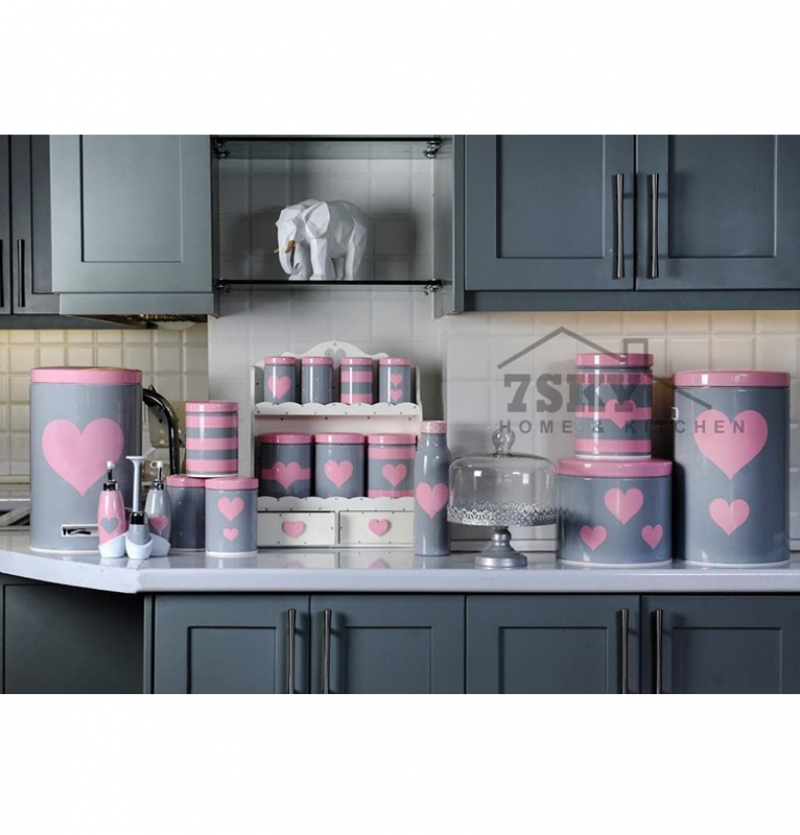 Pink Gray Fantasy kitchen set