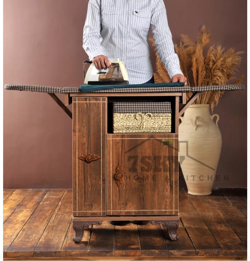 میز اتو و چرخ خیاطی فلورانس آنتیک